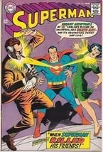 Superman Comic Book #203 DC Comics 1968 FINE/FINE+ NEW UNREAD - $22.14