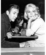 Bobby Darin Sandra Dee Candid Dining Together 16X20 Canvas Giclee - $69.99