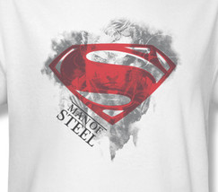 Superman man of steel dc superhero comics for sale online white graphic tee sm2058 at thumb200
