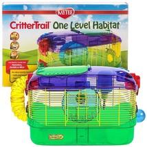 KAYTEE CRITTER TRAIL ONE LEVEL HABITAT CAGE MICE GERBILS HAMSTERS DWARF RAT - $39.55