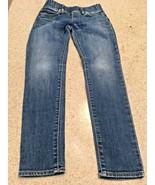 Girl's Gap Blue Denim Legging Jeans (8) - $9.50