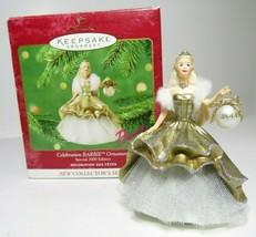 2000 Celebration Barbie Ornament Hallmark New Collectors Series Special ... - $9.49