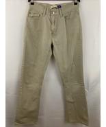 Gap Boot Cut Size 4 Khaki Tan Jeans 100% Cotton - $11.69