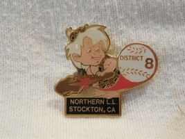 Flintstones Northern Little League Stockton CA Bamm-Bamm Rubble Lapel Pi... - $7.95