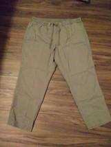Talbots Womens Size 1x Drawstring Elastic Pants  - $11.88