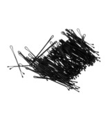 100pcs Black Plated Flat Top Hair Bobby Pins 55mm  IN FINE QUALITY - $10.71