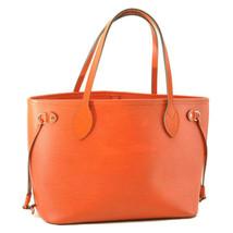 LOUIS VUITTON Epi Neverfull PM Tote Bag Orange M40963 LV Auth 10421 - $798.00