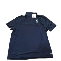 New NWT Seattle Mariners MLB Genuine Merchandise TX3 Cool Size 2XL Polo ... - $29.65