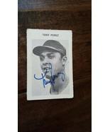 1969 MILTON BRADLEY SIGNED AUTO CARD TONY PEREZ CINCINNATI REDS EXPOS RE... - $29.99