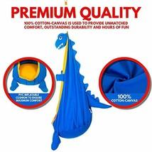 Hamaca Para Niños Tipo Silla Colgante Con Diseño De Dinosaurio En Algodon - $66.32+