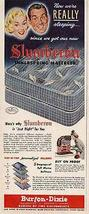 Burton Dixie Slumberon Magic Finger Mattress 1950 AD - $10.99