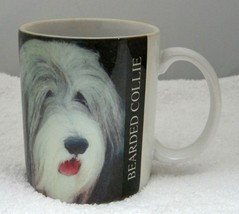 1994 Xpress Bearded Collie Dog Coffee Mug Cup 3 3/4 Inches Great Shape  - $19.79