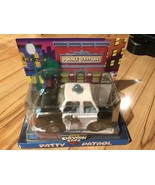 Chevron Cars Patty Patrol, Police Car 13cm Series, Collectible. - NEW - $19.99