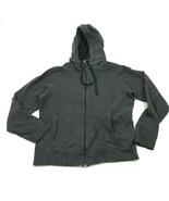 Champion Hoodie Sweater Women's Size Extra Large Gray Full Zip Sweatshir... - $21.87