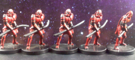 LOT - Star Wars Miniatures Imperial Coruscant Guard 46/60 w/ Cards - FREE SHIPIN - $12.88