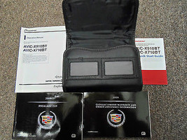 2009 Cadillac Escalade Owners Manual Set FACTORY OEM BOOKS 09 x - $118.83