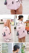 Women Backpack Travel Anti Theft Design Large Capacity Teenage Girl School Bags image 12