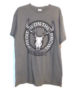 Realtree Mens T-Shirt Preditor On The Prowl Buck Skull Antler Size Large... - $11.29