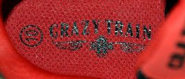 Crazy Train RUNWILD14 Black Red Cheetah Sneakers Size Ten image 7