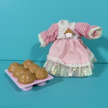 Cherry Merry Muffin Replacement Dress & Muffin Accessory For Doll Vintag... - $9.95