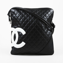 """Chanel  """"Cambon"""" Grid Quilted Leather Crossbody Bag - $1,005.00"""