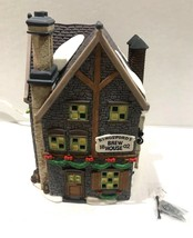 Dept 56 Dickens Village Series KINGSFORD'S BREW HOUSE MINT! Retired 5811-4 - $24.90