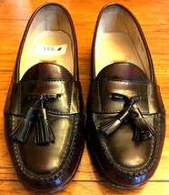 9M Cole Haan City Men's  Dark Burgundy Leather Tassel Loafers - $36.47
