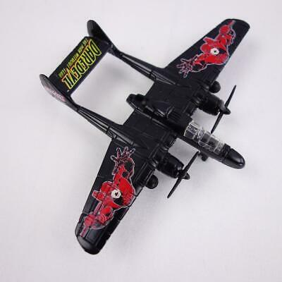 Primary image for Maisto Ultimate Marvel Air Force Daredevil P 61 Black Widow Diecast Airplane