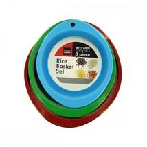Rice Basket Set Of 3 OC669 - $51.20
