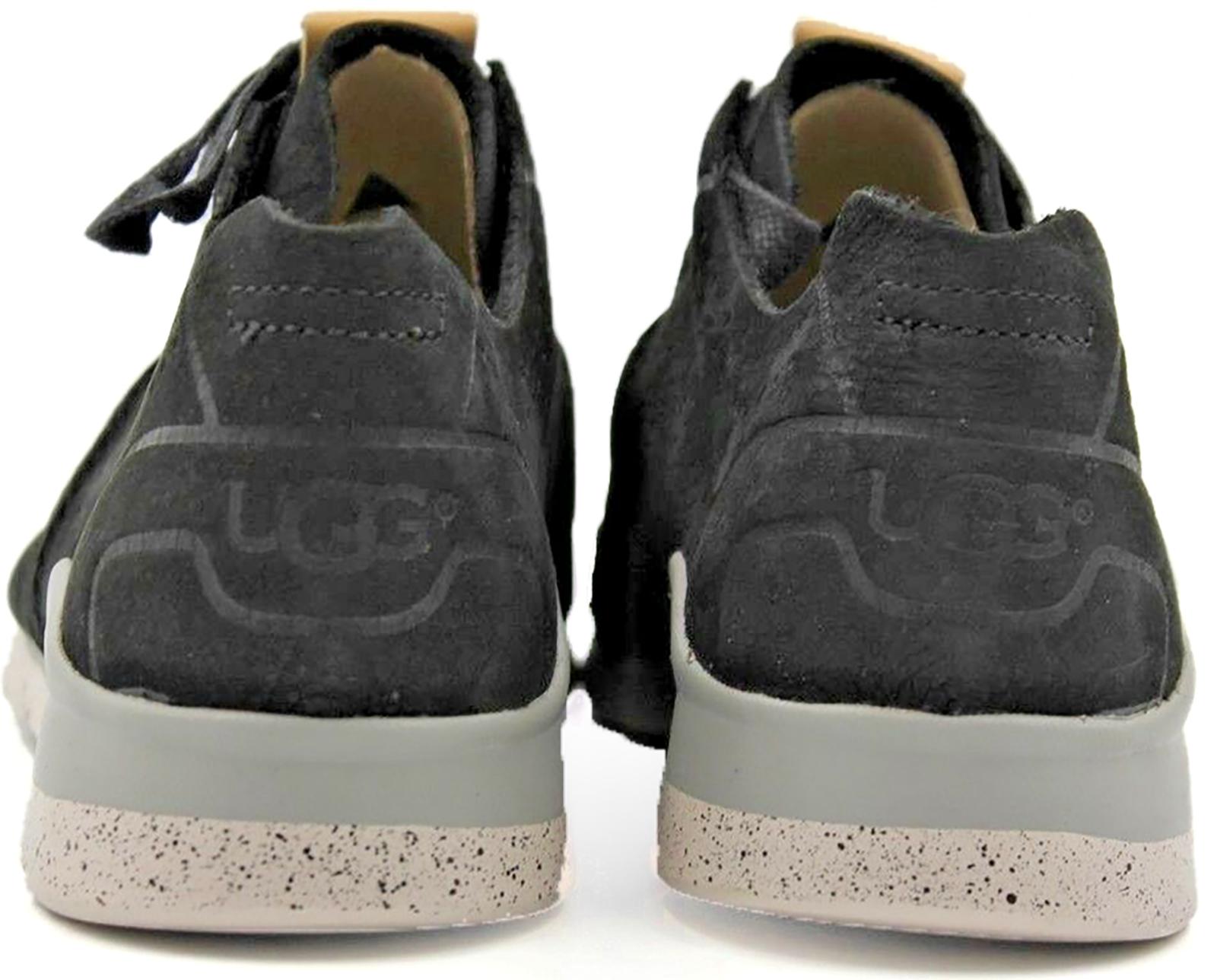Ugg  Australia Tye Sneakers Tennis Black Women's Casual Shoes Size 6  image 4
