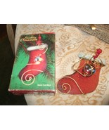 20#5  Giftco Christmas Stocking Ornament 4327 In Box - $5.44