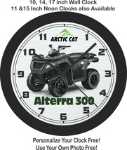 2020 Arctic Cat Alterra 300 ATV Wall Clock-Free US Ship-Polaris, Honda, ... - $28.70+