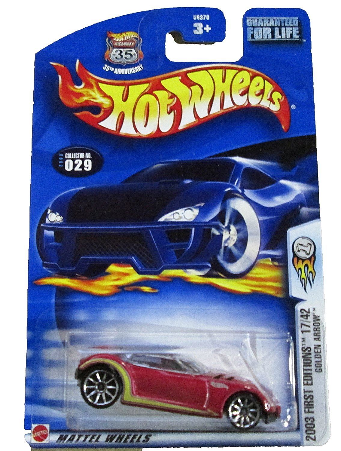 Primary image for Hot Wheels 2003 First Editions 17/42 Golden Arrow