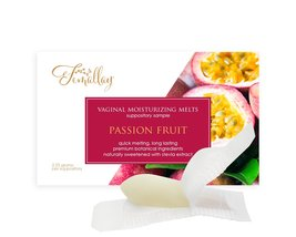 Sample of Passion Fruit Vaginal Moisturizing Suppositories - $2.25