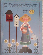 Something Adorable From Andi By Andrea Lyness Cats Sunflower Tole Painting Book. - $7.98