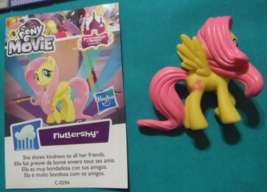My Little Pony G4 Blind Bag Wave 24 Fluttershy Figure With Card  - $3.00
