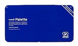 Mitsubishi Pencil colored pencils 890 Uni palette 12 colors blue K89012C... - $40.22