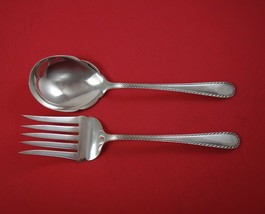 "Winslow by Kirk Sterling Silver Salad Serving Set 2-Piece All Sterling 9 1/4"" - $278.10"
