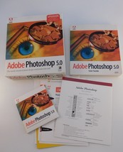 Adobe Photoshop 5.0 Upgrade Windows Retail Box Manual, Software - $17.81