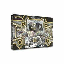 POKEMON TCG Melmetal GX Box Collection Card 4 Packs and Promos  - $20.95