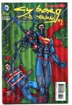 Action Comics-Superman-#23.1-Cyborg Superman-#1-3-D Variant-2nd Print-NM - $18.62