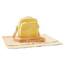 LOUIS VUITTON Vernis Wooster Shoulder Bag Yellow M91075 Auth 8666 - $398.00