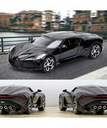1:32 Bugatti La Voiture Noire Sports Car Diecast Metal Alloy Model Toy Gift - $21.11