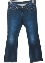 London Jeans Women's Dark Wash Denim Size 10 Boot Cut - $16.82