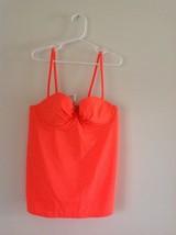 NWT J. Crew Women's Neon Underwire Swing Tankini Top---size 2 - $16.99