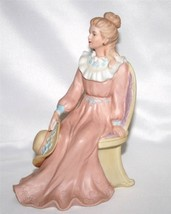 "HOMCO Victorian Lady Sitting Figurine ""Courtney's Dream"" #1439 - $30.00"
