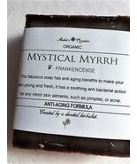 Organic Mystical Myrrh & Frankincense Oils - Wrinkle Reducer Soap Bar - $3.50
