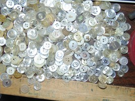"""Buttons 1115 Variety Buttons 1/4""""-1/2""""-1""""-Quilt-Shirts-Blouse-Dress-Craf... - $9.89"""