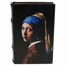 Enchanted boxes Famous Painters Book Box - Small - 8.25x5.75x2 inches (Vermeer) - $29.60