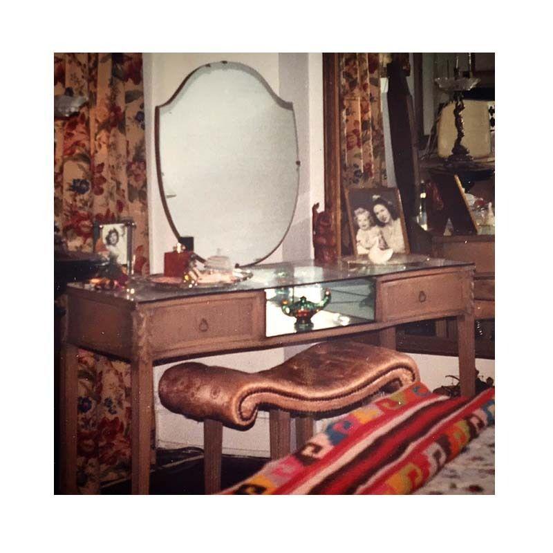 Vintage Art Deco 1920s Oak Vanity Mirrored And 50 Similar Items